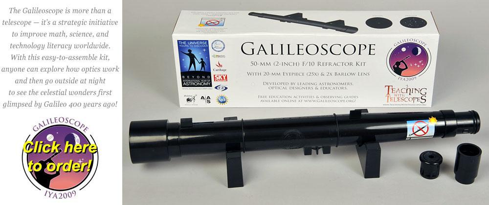 KSS Receives Galileoscopes