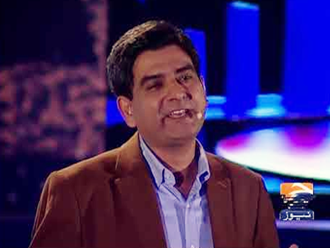 Dr. Muhammad Sabieh Anwar airs on the TV Show 'Geo Tou Aisay'