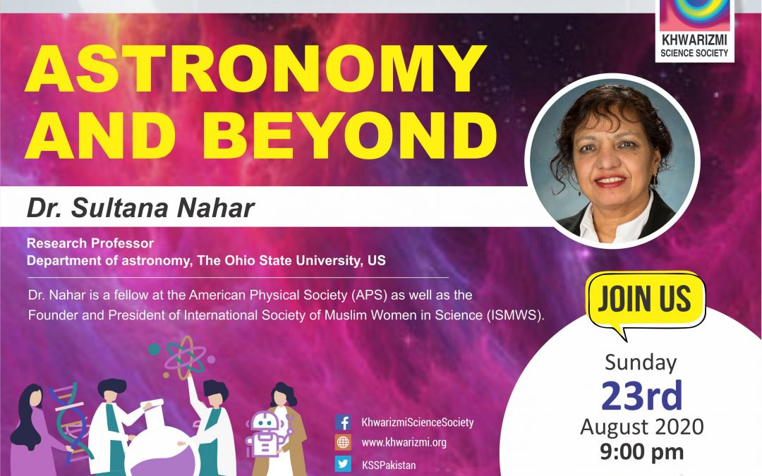 Episode 2 of MWST: Astronomy & Beyond with Dr. Sultana N Nahar