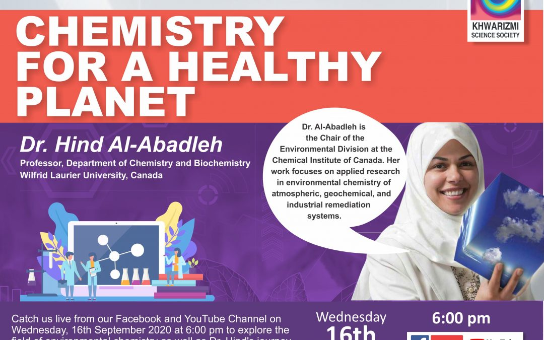 Chemistry for a Healthy Planet with Dr. Hind Al-Abadleh