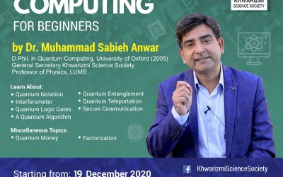 Quantum Computing for Beginners: An Online Lecture Series