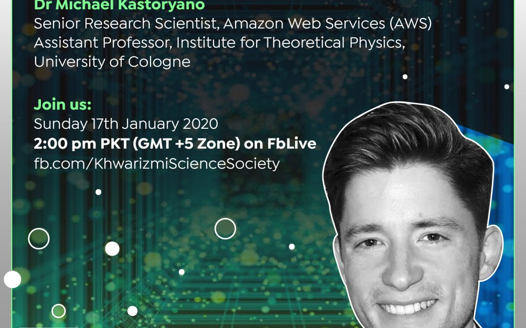 """1-Click Quantum Computing at AWS"" – A Live Talk by Dr Michael Kastoryano"