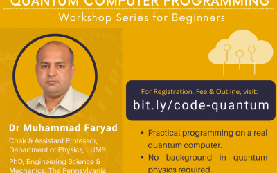 Practical Quantum Computer Programming: A workshop series for beginners