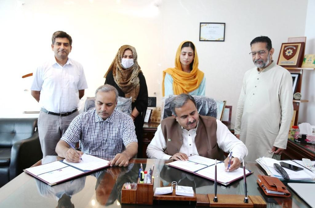MOU Signed between KSS and PITB