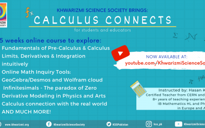 Calculus Connects is now Public on our YouTube Channel!